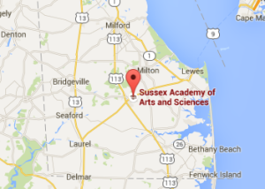SussexAcademyMap
