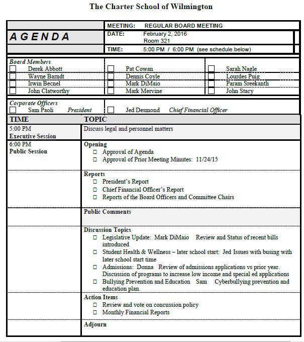 csw agenda 2216
