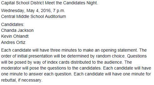 Capital Candidate Night