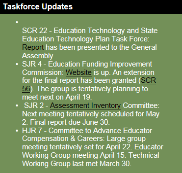TaskforceUpdates