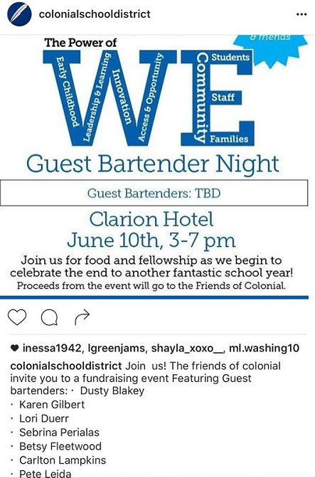 ColonialGuestBartenderNight