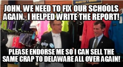 Dave Sokola's Commercial For Corporate Education Reform & Money For The Poverty Pimps Will Not SwayVoters