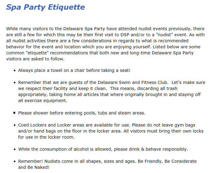 Breaking News: Which State Legislator Allows A Nudist Party